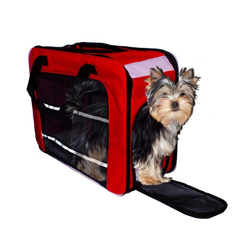 Bolsa de Transporte PET em Pé (Cor Vermelho) - Eleva Mundi