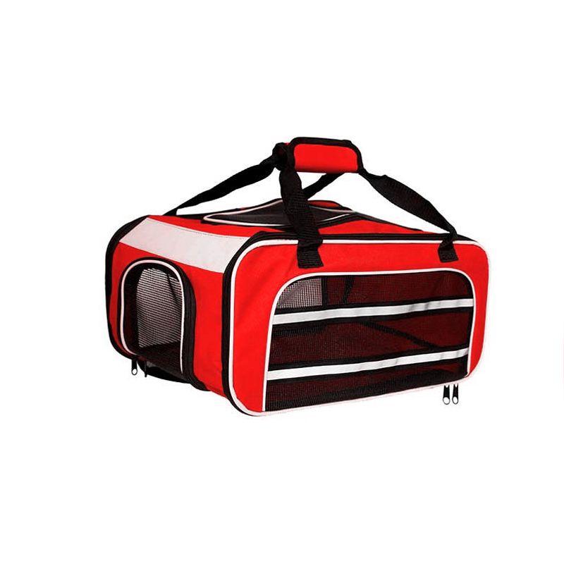 Bolsa para Transportar seu Pet na Cabine do Avião - Cia TAP Portugal  - Eleva Mundi - (Cor Vermelho)