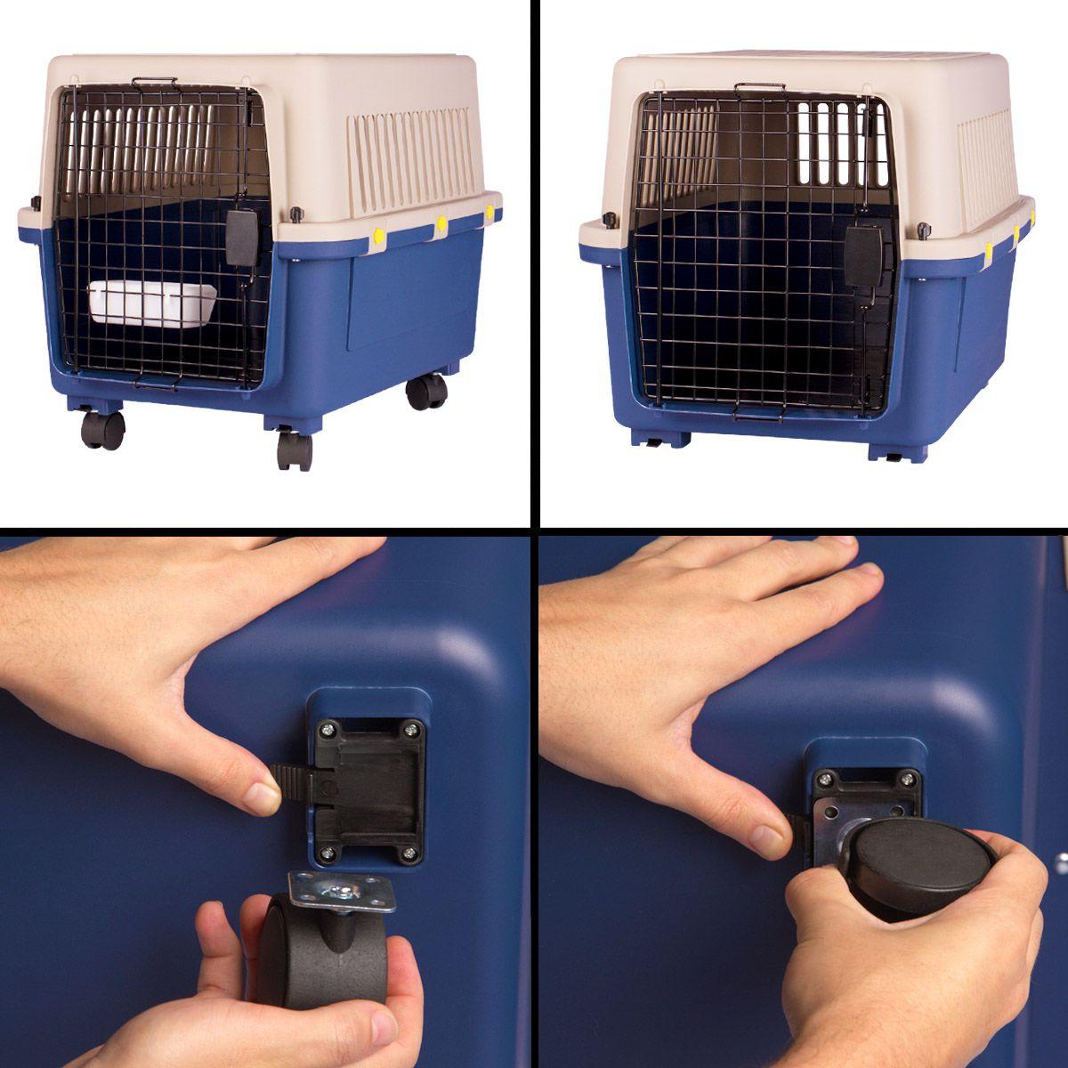 Caixa de Transporte Dog Fly IATA Tamanho 4 N4