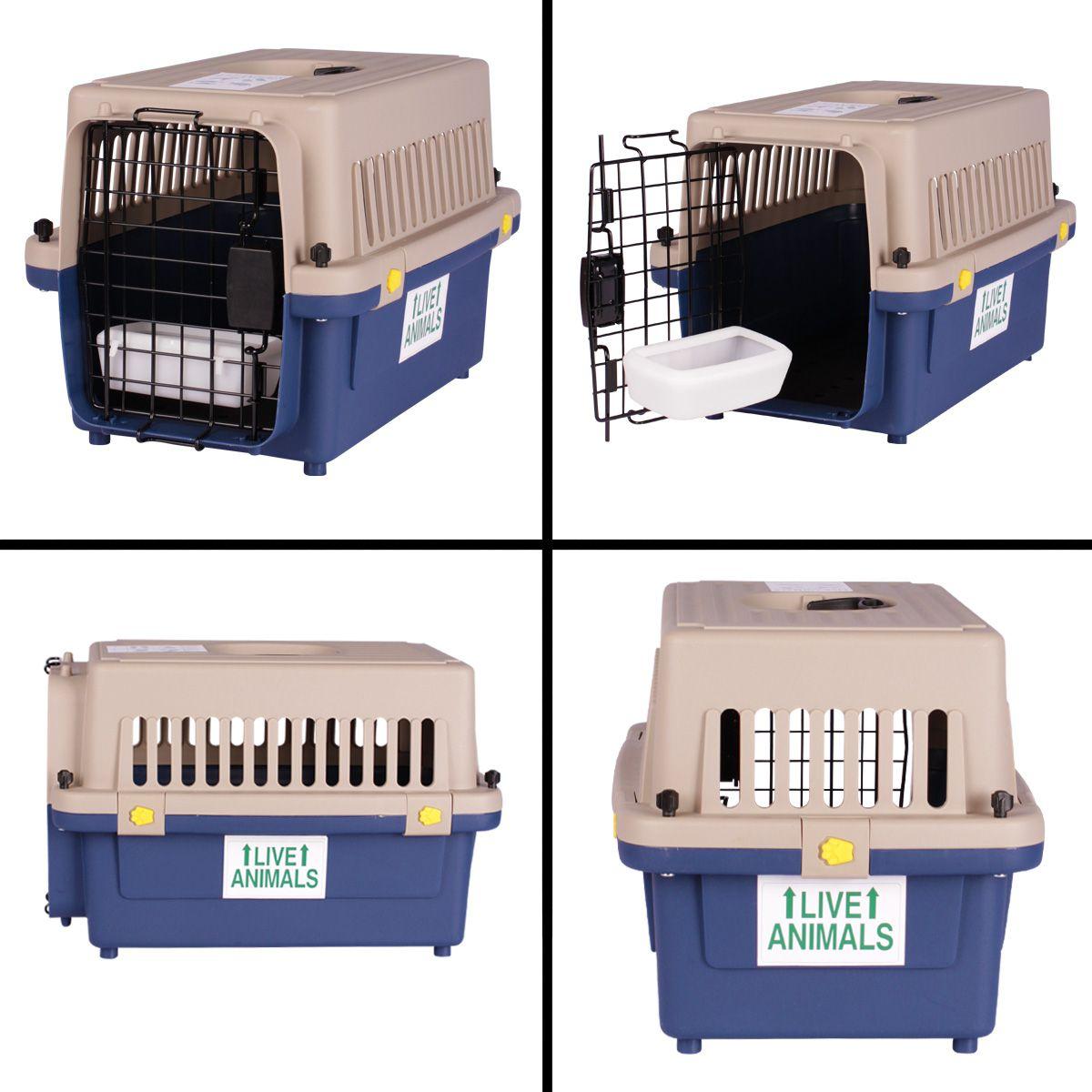 Caixa de Transporte Dog Fly IATA Tamanho 2 N2