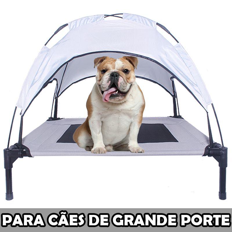 Tenda Pet Para Cães de Grande Porte Praia Camping - Eleva Mundi