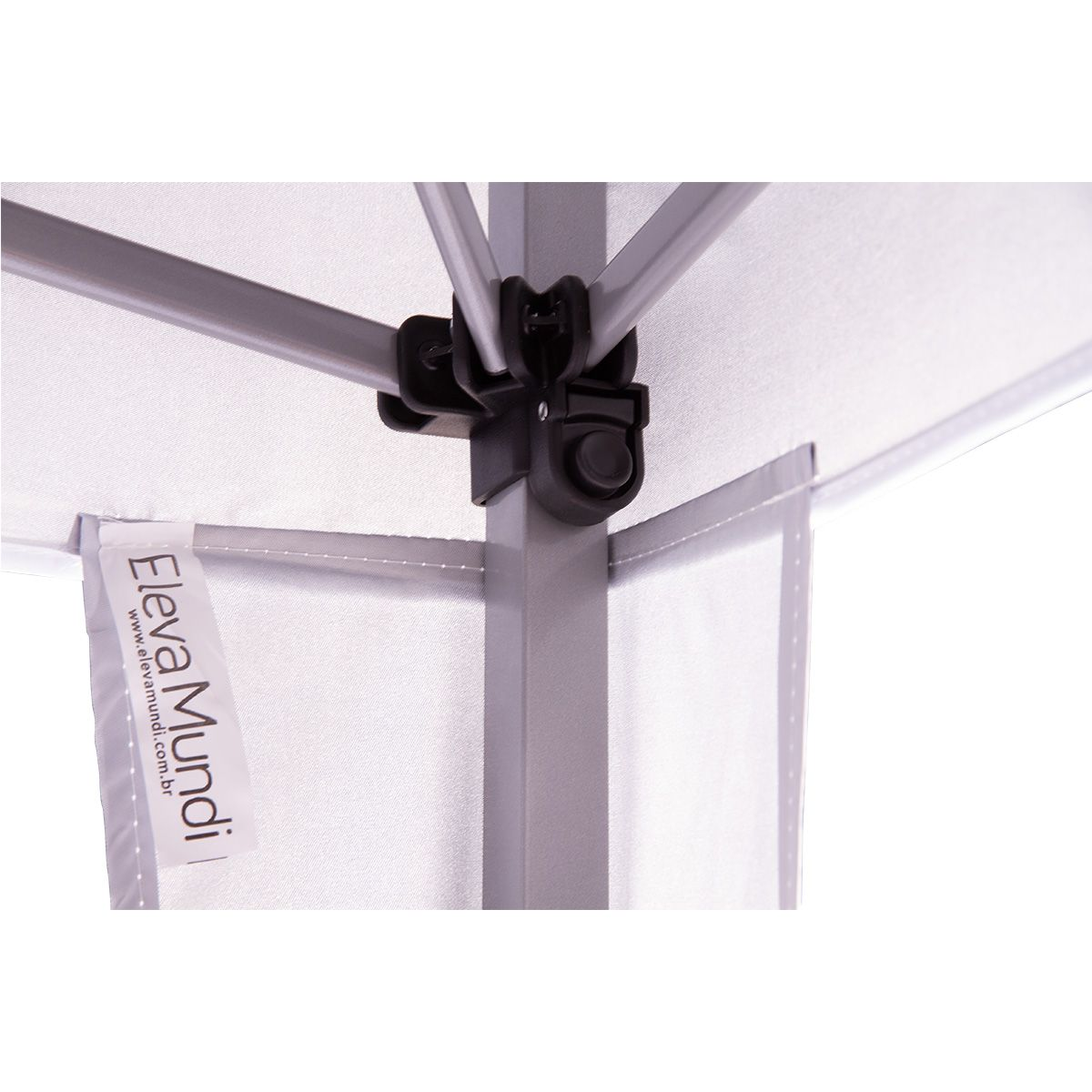 Gazebo 2x2 Articulado com Sistema Flexi Lock Eleva Mundi - Branco