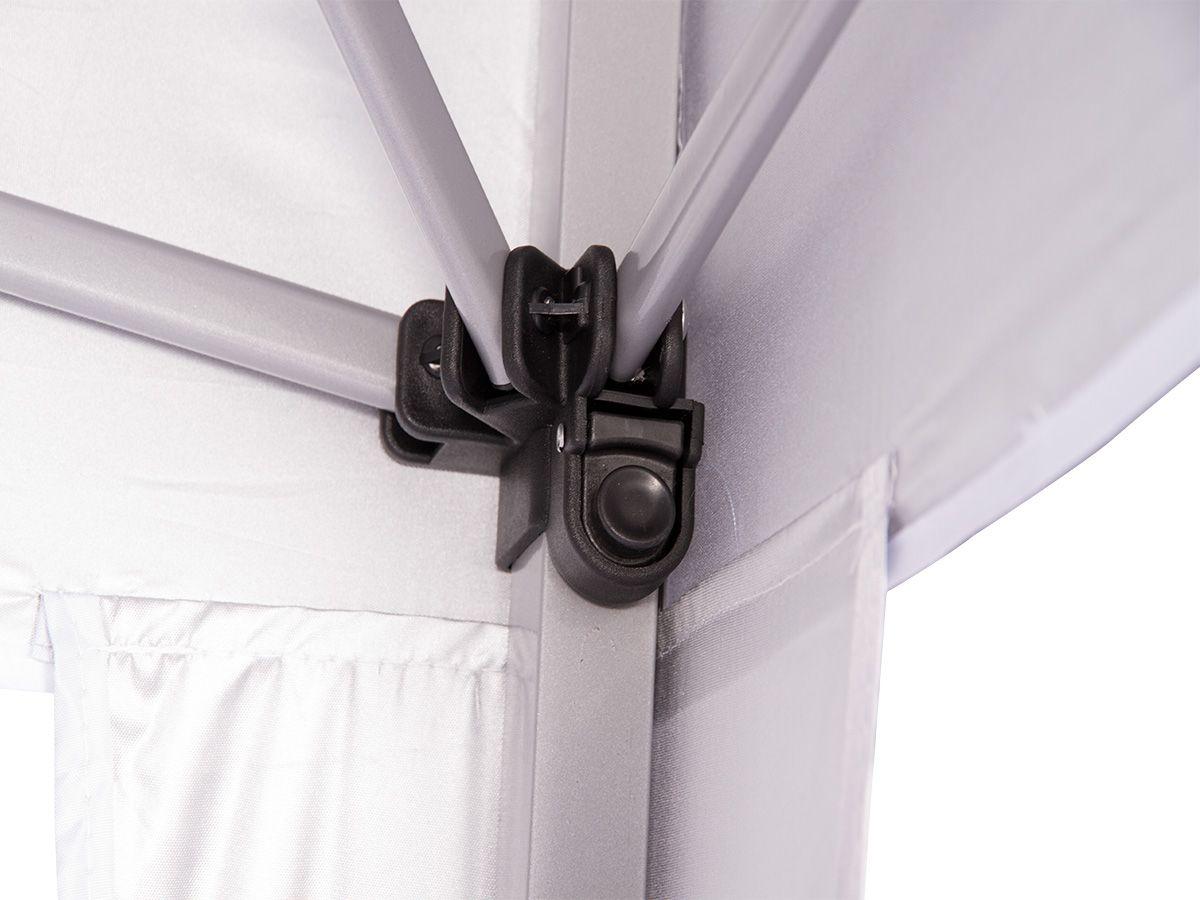 Gazebo 2x2 Articulado com Sistema Flexi Lock Eleva Mundi - Preto
