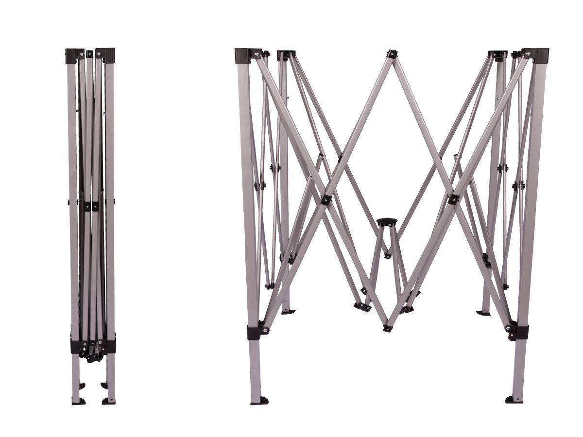 Gazebo 2x2 Articulado com Sistema Flexi Lock Eleva Mundi - Verde