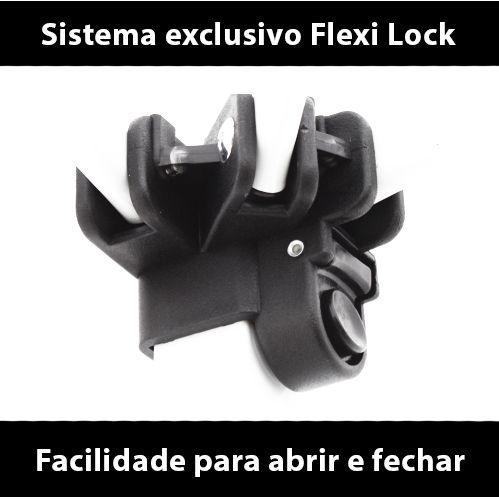 Gazebo 3x3 Articulado com Sistema Flexi Lock Eleva Mundi - Laranja