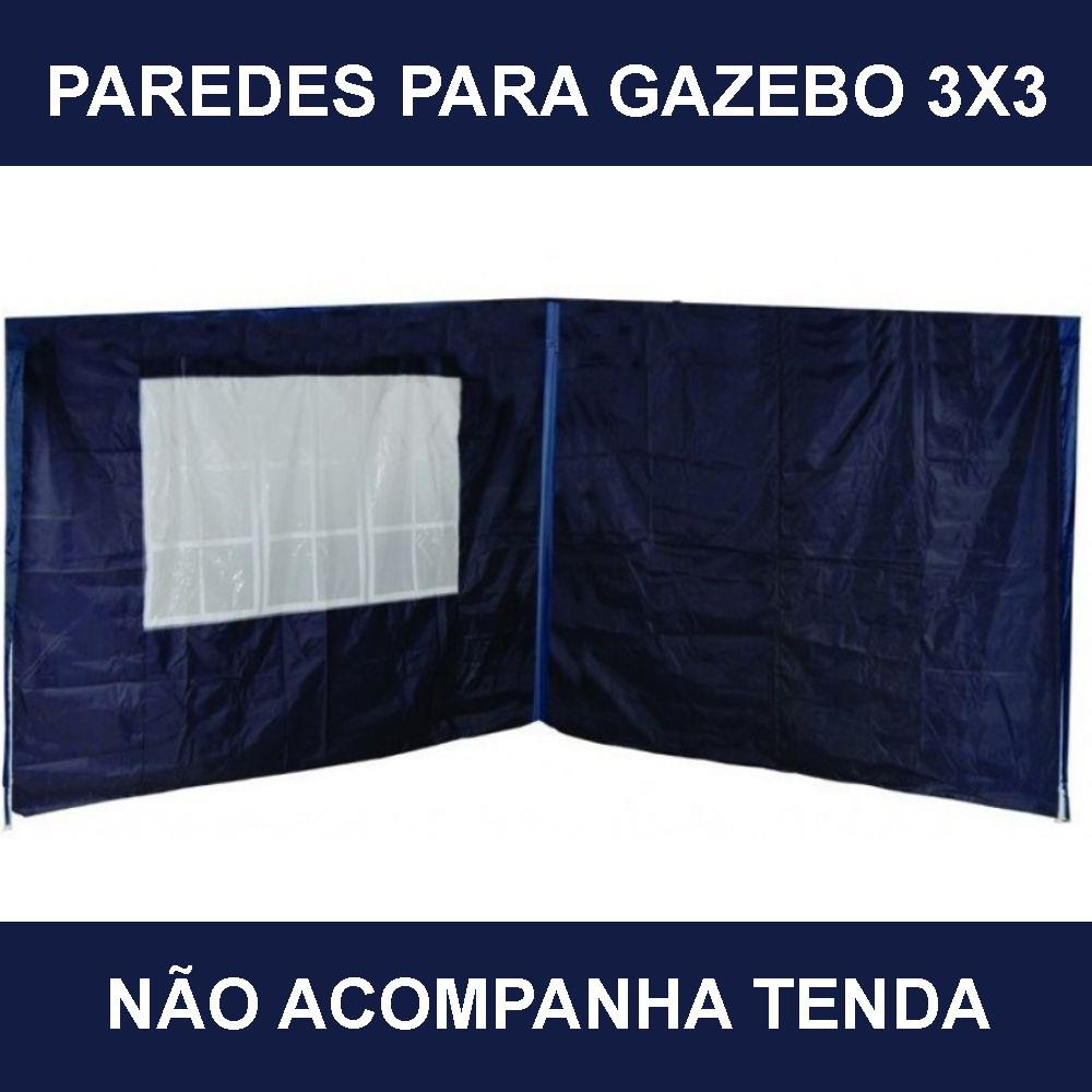 Kit Com 2 Paredes para Gazebo Articulado MOR