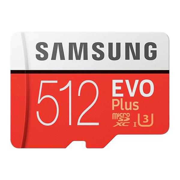 Cartão de memória 512GB MicroSDXC Samsung Evo Plus , MicroSD