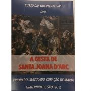 DVD - A Gesta de Santa Joana d'Arc - FSSPX