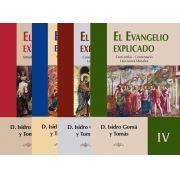 El Evangelio Explicado (04 volumes) - Isidoro Gomá y Tomás