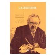 O Defensor - Tipos Variados - G. K. Chesterton