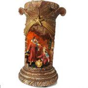 Sagrada Família com Luz e Música - 22 cm