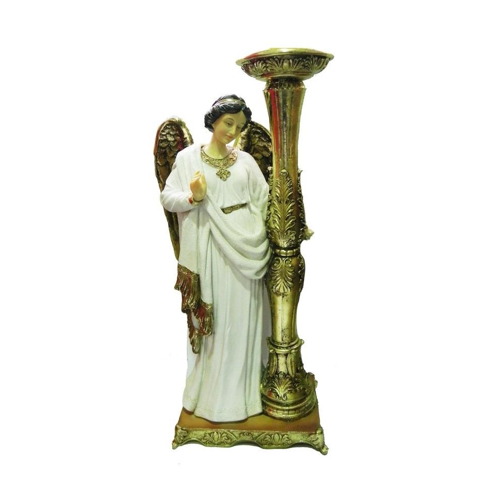Anjo com Castiçal - 23 cm