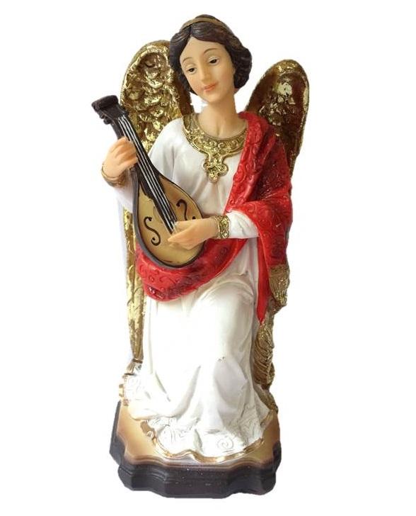 Anjo com Instrumento Musical