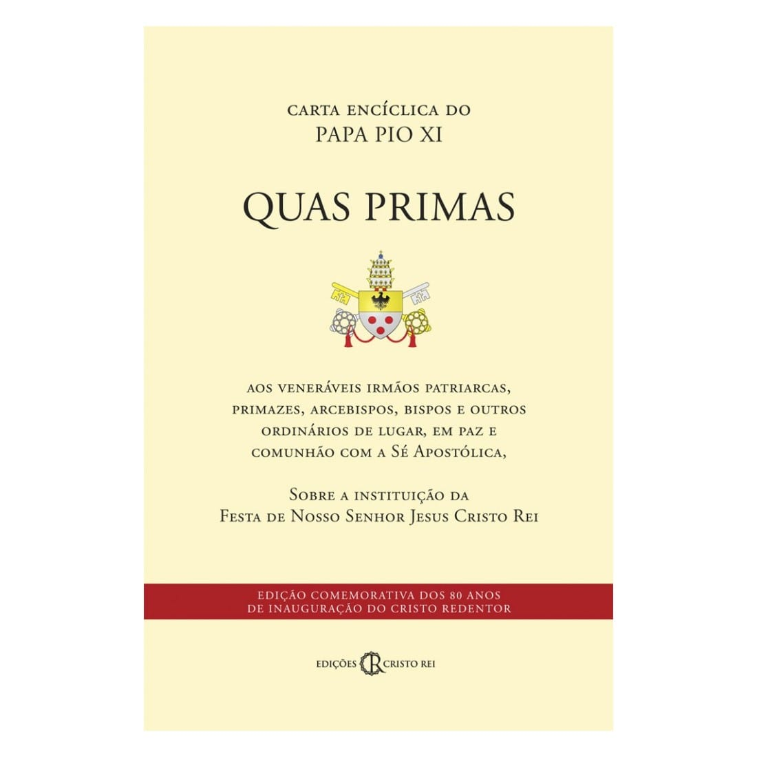 Carta Encíclica Quas Primas - Papa Pio XI