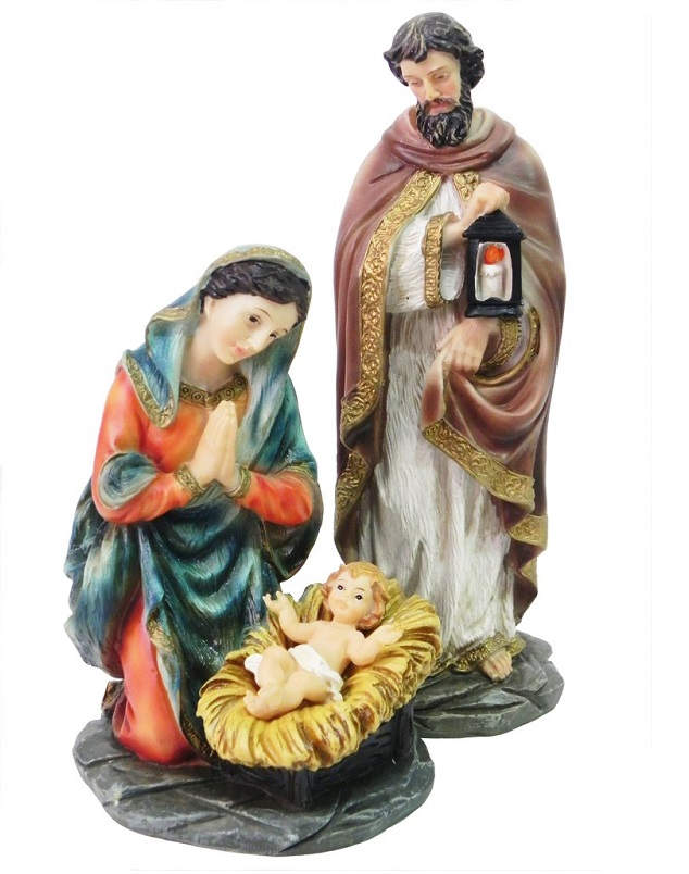 Imagem da Sagrada Familia - 20 cm
