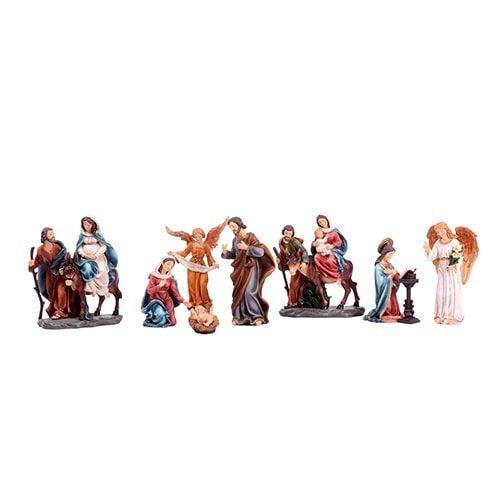 Trajetória Sagrada Família (8 peças - 20 cm)