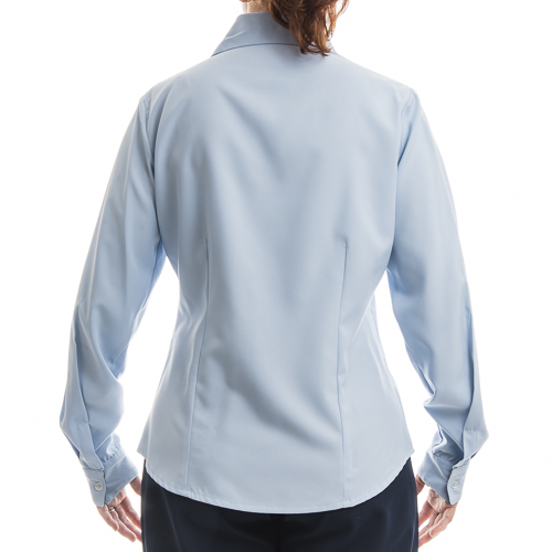 14cd26dd0 Camisa Social Feminina Microlins Manga Longa  - Uniformes Microlins