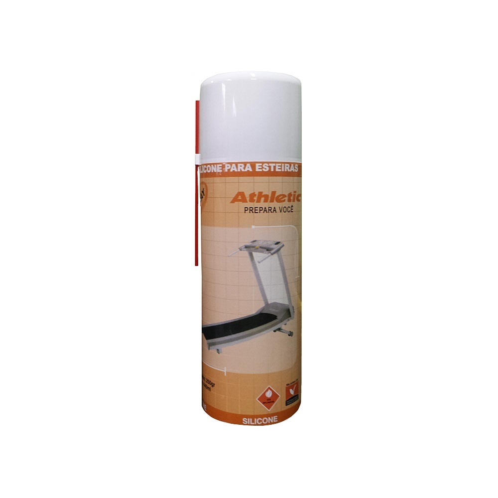 Silicone Lubrificante Spray Para Esteiras Athletic