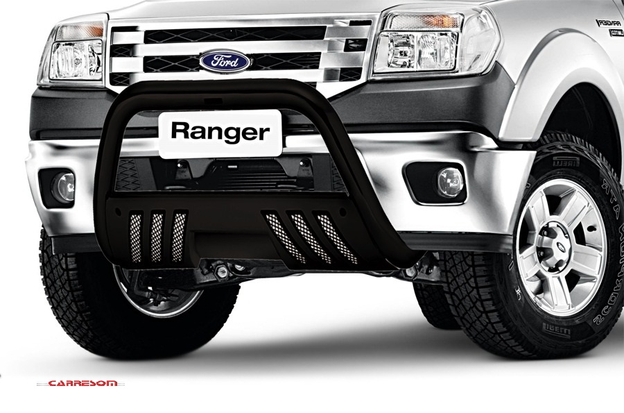 Parachoque de Impulsão C/ Chapa  Ranger  2013/ ...  Cromado