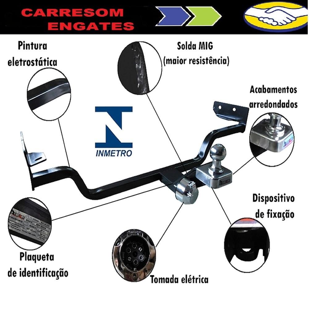 Engate Reboque Corsa Classic 11/...