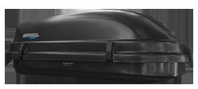 Bau Maleiro de Teto MotoBul 510 Litros Light - Preto - MotoBul