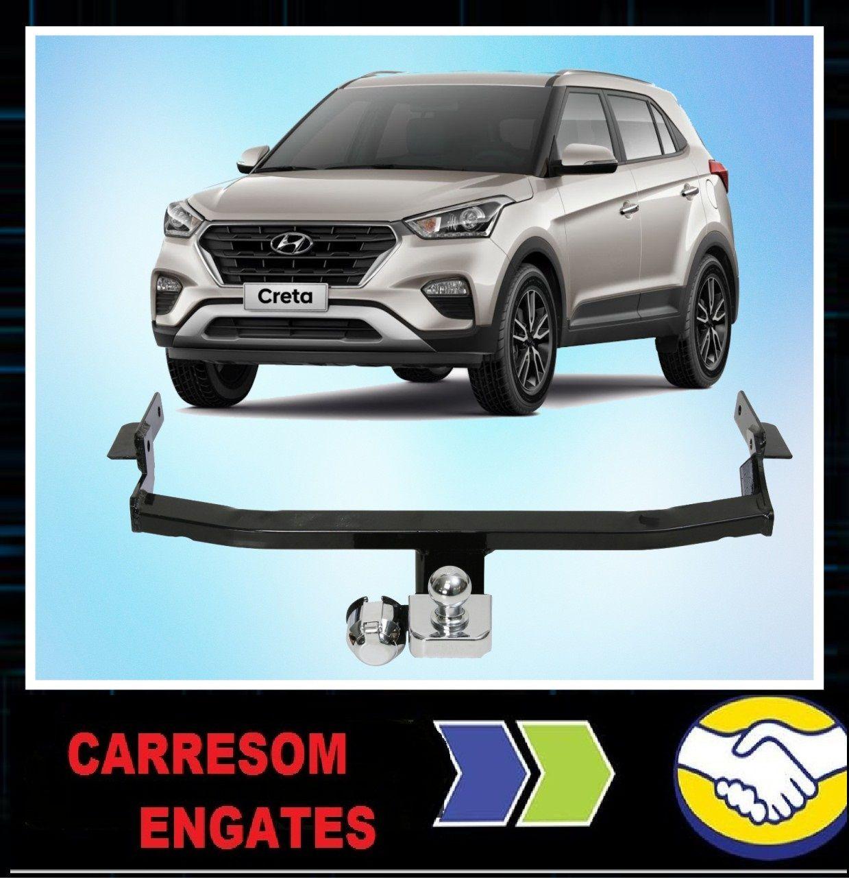 Engate De Reboque Hyundai Creta