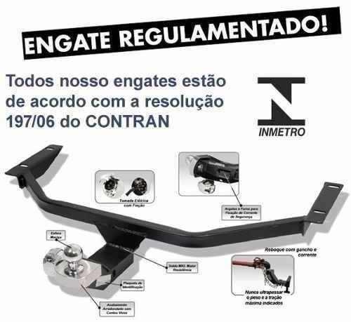 Engate Reboque Fiat Argo