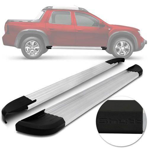 Estribo Duster Plataforma Aluminio Polido