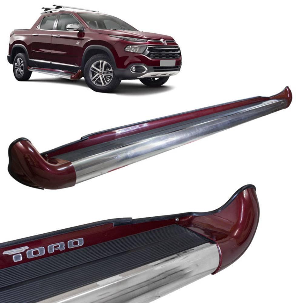 Estribo Personalizado Fiat Toro na Cor Original