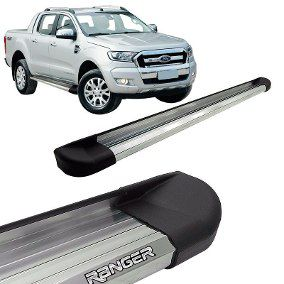 Estribo Plataforma Ranger - Aluminio Polido