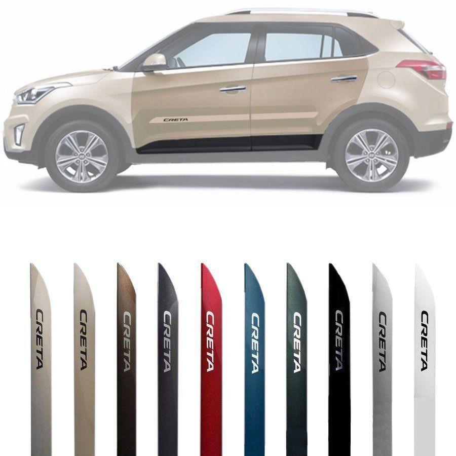 Friso Lateral Novo Hyundai Creta 2017 2018 2019 - Todas as Cores