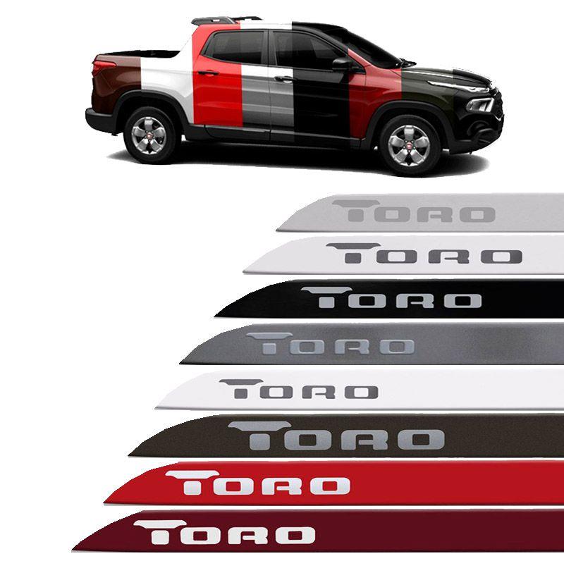 Jogo Friso Lateral  Fiat Toro