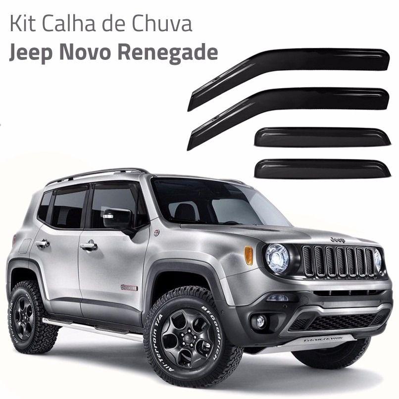 Kit Calha chuva Renegade