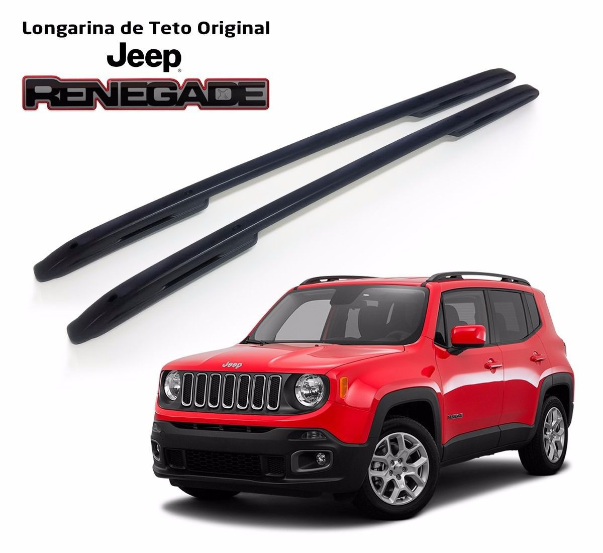 Longarina Rack Original Jeep Renegade Sem Adaptação