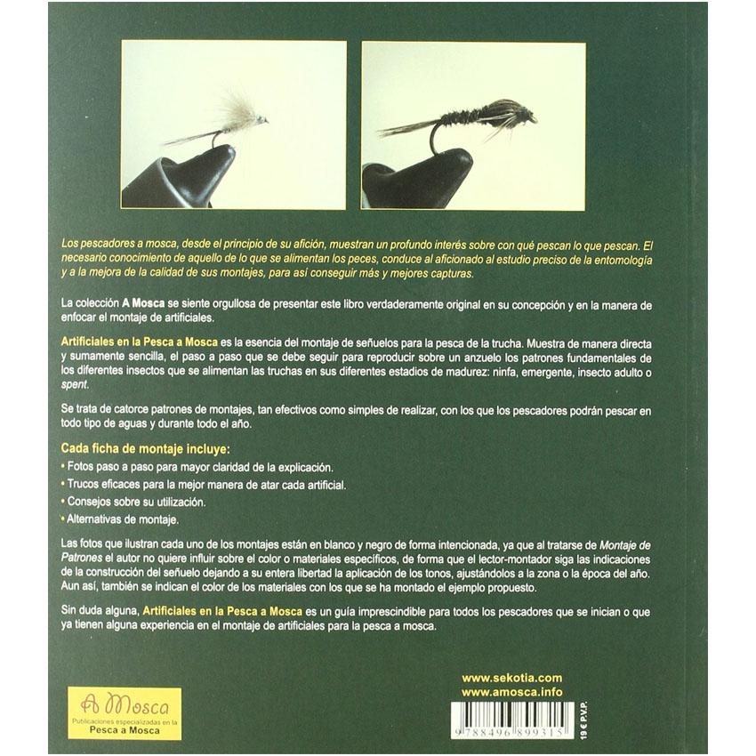 Livro Artificiales en la Pesca a Mosca (Luis Villas Tomé)