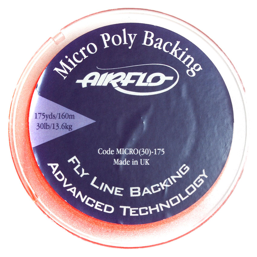 Backing Airflo Dacron Micro Poly 30 lb