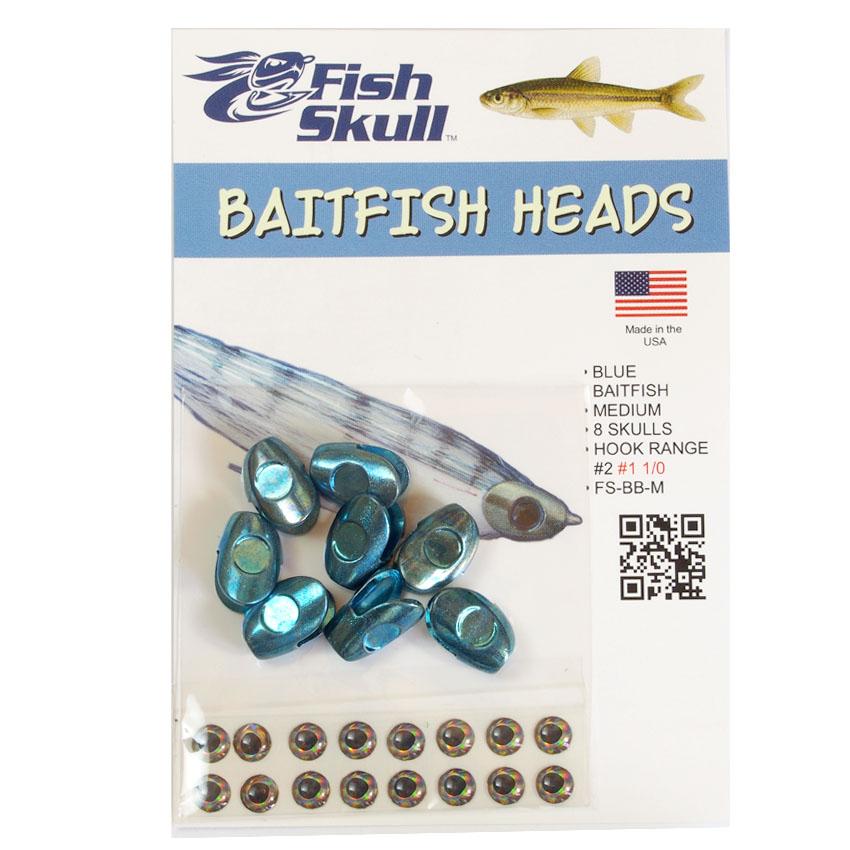 Cabeça Metálica Fish Skull Baitfish Heads