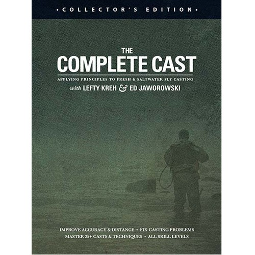 DVD The Complete Cast (Lefty Kreh & Ed Jaworowsky)