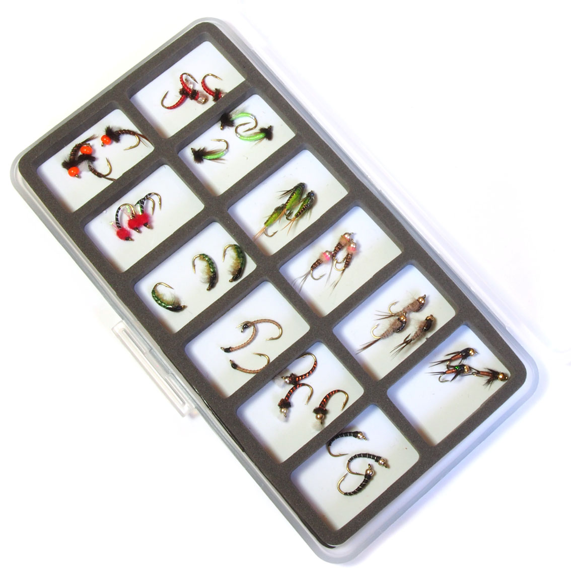 Kit de Moscas Ausentes 36un com Caixa Magnética