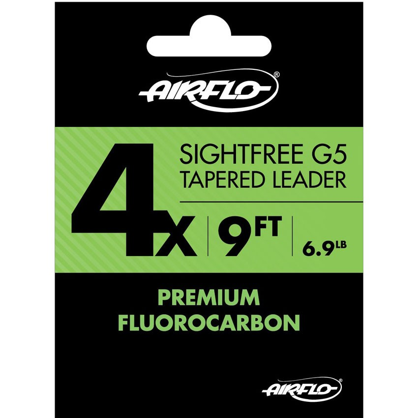 Leader Airflo Sightfree G5 Premium Fluorocarbon 9'