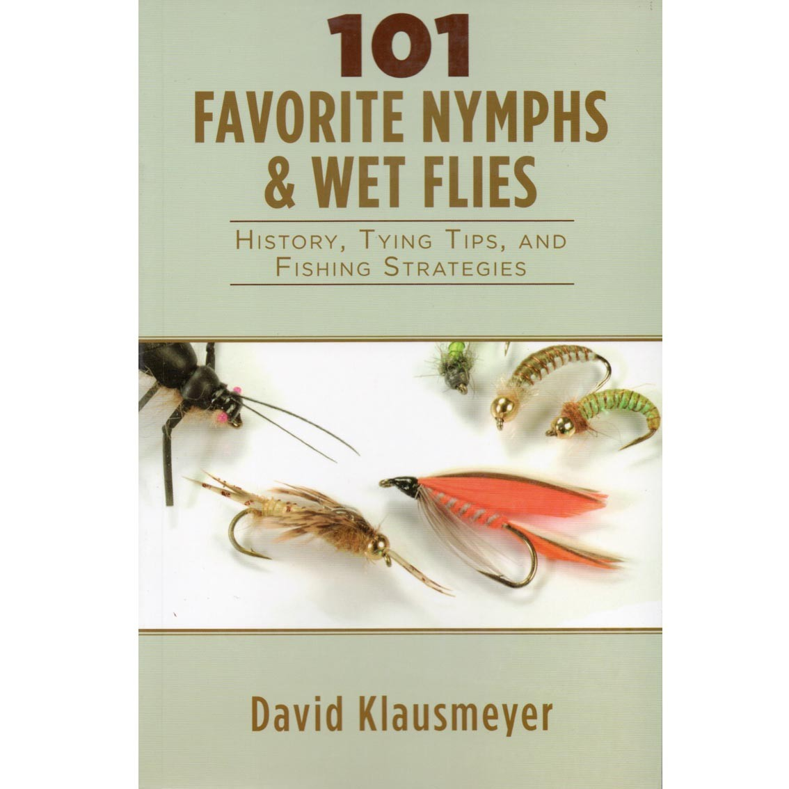 Livro 101 Favorite Nymphs & Wet Flies (David Klausmeyer)