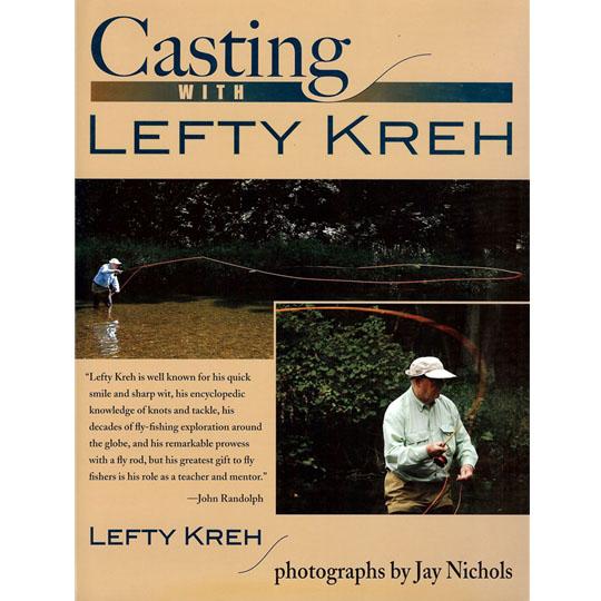 Livro Casting with Lefty Kreh (Lefty Kreh)