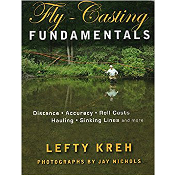 Livro Fly-Casting Fundamentals (Lefty Kreh)
