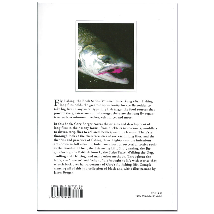 Livro Long Flies (Gary A. Borger)