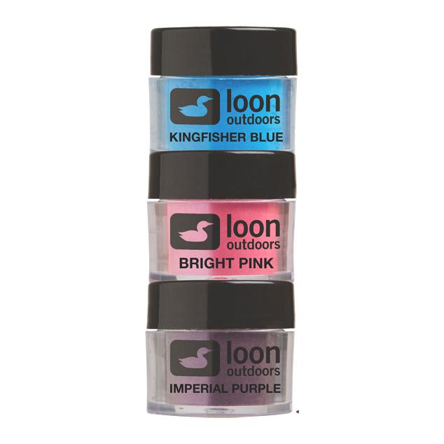 Pigmento para Resina UV Loon Outdoors Fly Tying Powders (3un)