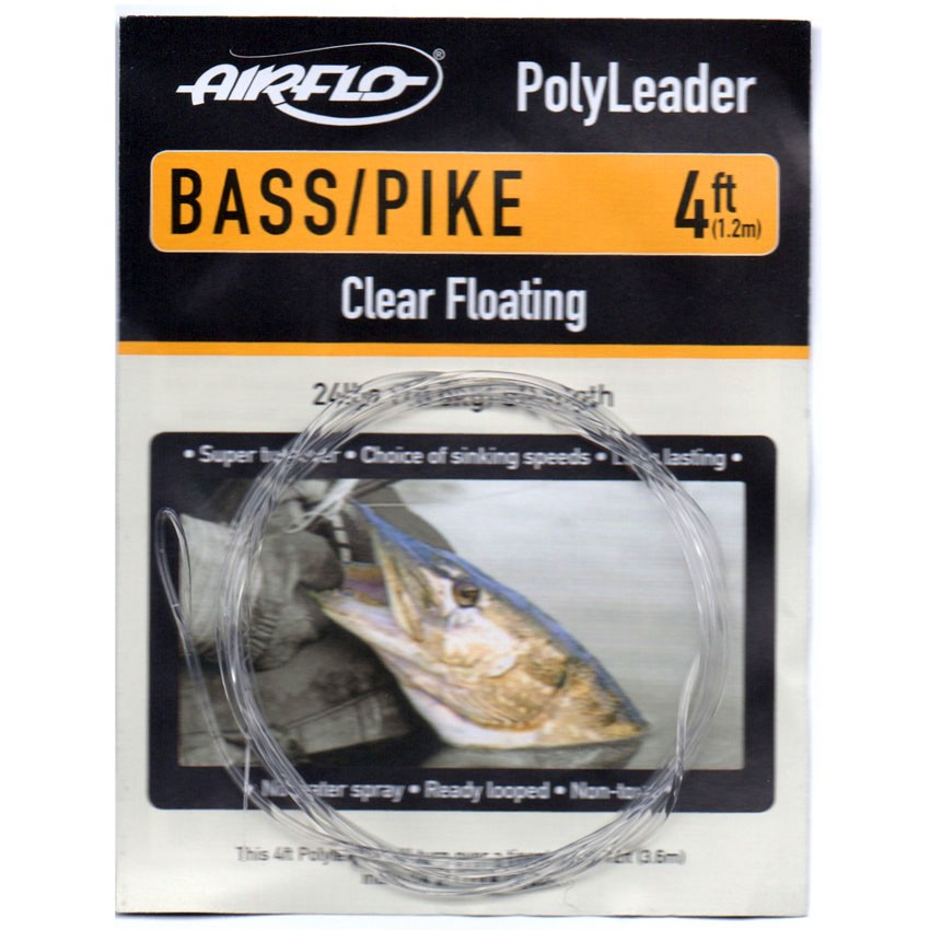 Polyleader Airflo Bass Pike 4' (Floating)