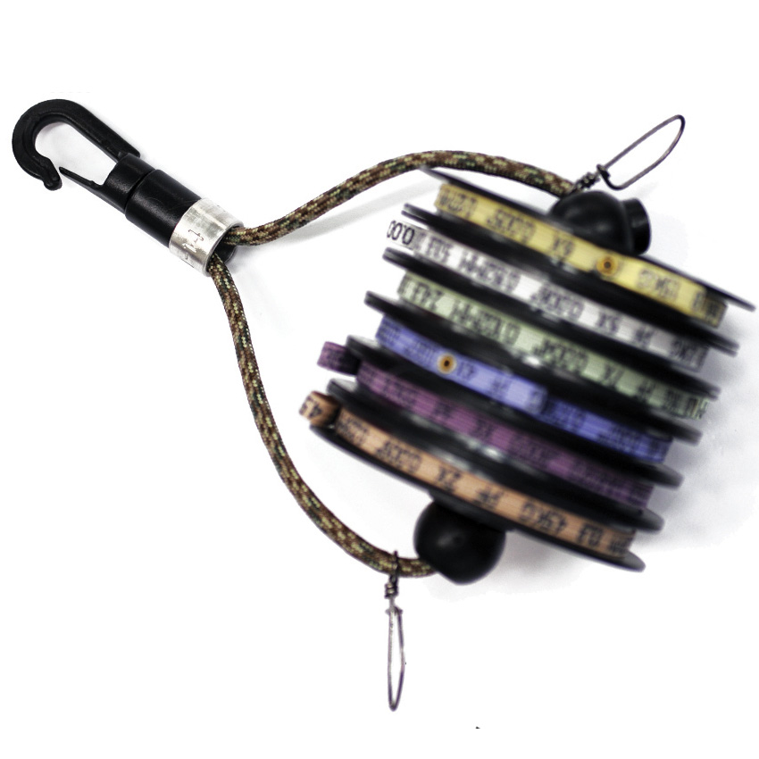 Suporte para Tippet Anglers Image Horizontal Tippet Retainer