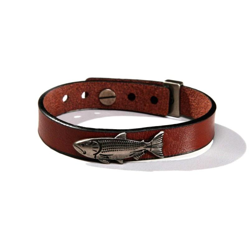 Pulseira For Fisher Dourado Pingente