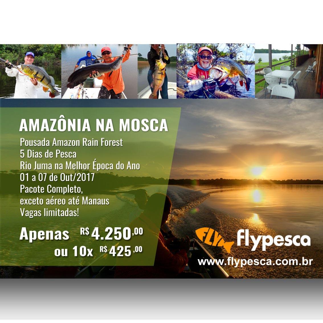 Tucunaré na Amazônia - Rio Juma, Amazonas - 7 dias (01 a 07 de Out/2017)