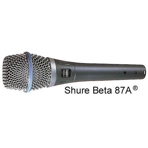 MICROFONE SHURE SUPERCARDIÓIDE PARA VOCAL - BETA 87A
